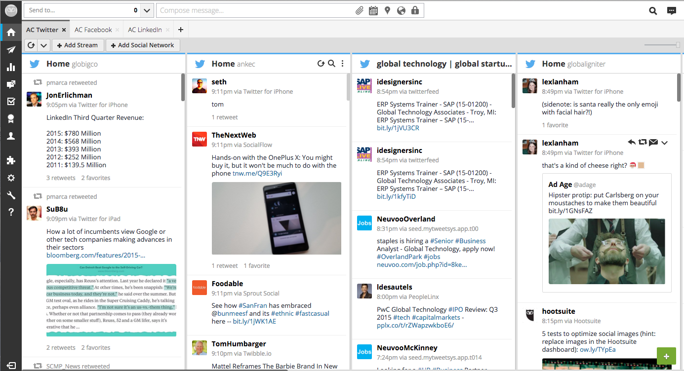 Hootsuite example